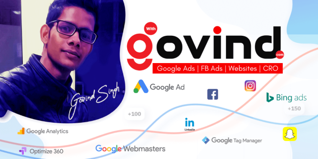 Google Ads Manager in Delhi - Govind Singh